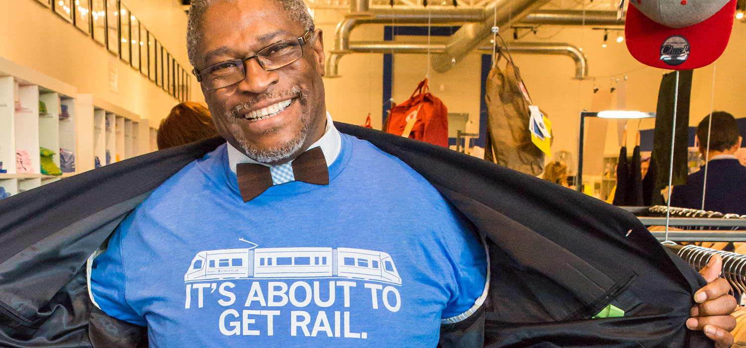 Mayor Sly James - It's About to Get Rail